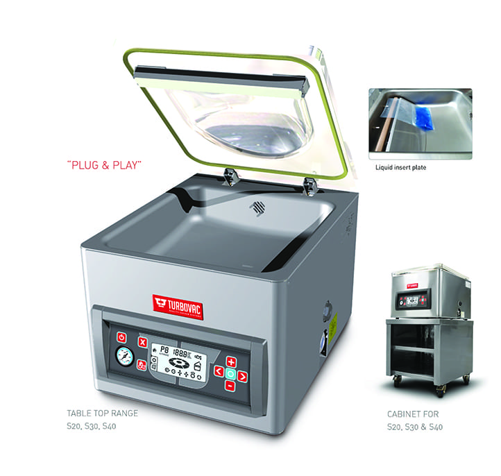 bench top turbo vacpack
