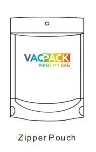 vacpack Custom Manufactured Food Packaging Bags